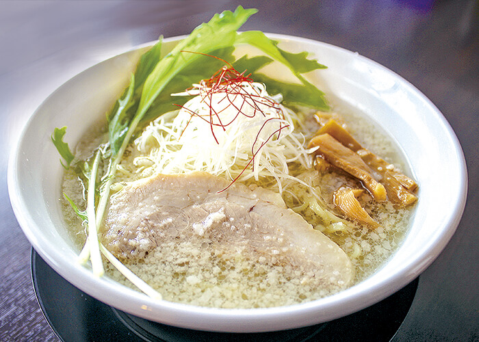 会津山塩らぁめん 750円(税込)