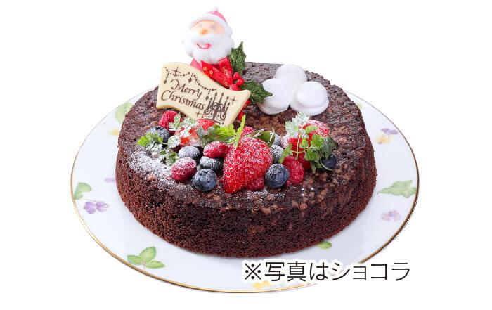クリスマスケーキ《6号》ショコラ/フレーズポンム 各3,800円(税込)