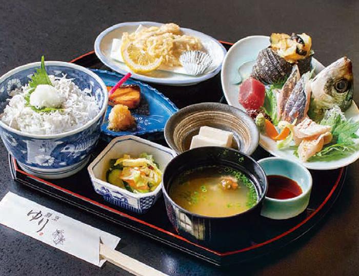 おさかな定食 1,650円(税込)